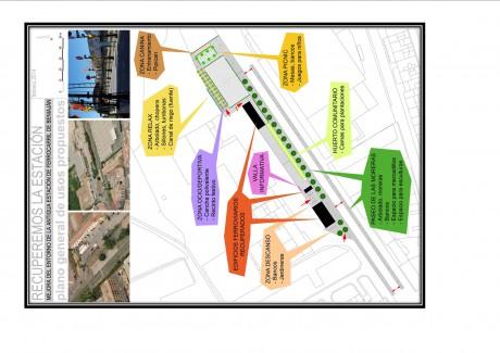 mapa entorno de la estación