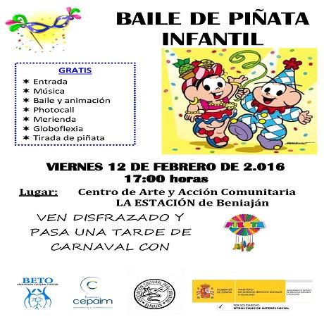 Baile de Piñata Infantil