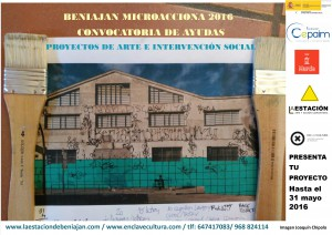 cartel beniajan microacciona 2016