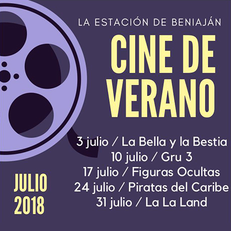 Cine de Verano 2018 - 460x460