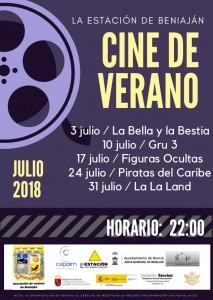 Cine de Verano 2018 - cartel